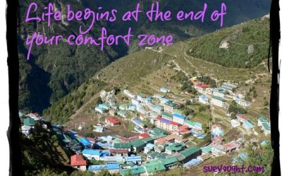 Talk about out of my comfort zone….